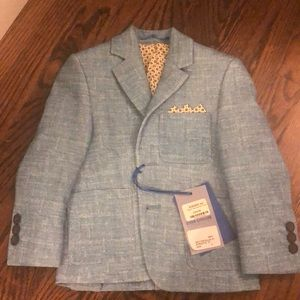 Matching Sets - Bergano uomo kids suit with blazer and pants